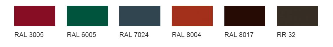 Цветовая карта покрытий ТМ Grand Line