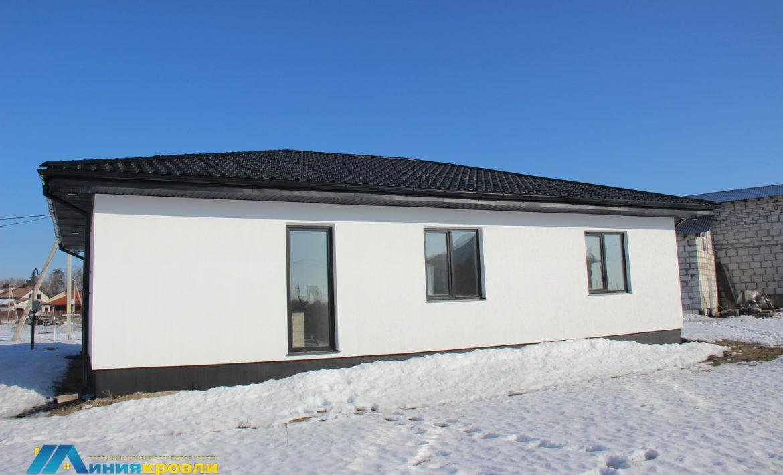 Металлочерепица Квинта Плюс для одноэтажного дома
