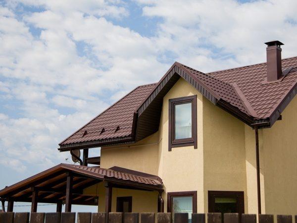 Металлочерепица Classic для крыши сложной конструкции