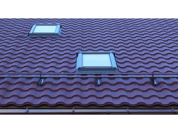 Металлочерепица Kredo для крыши с мансардой