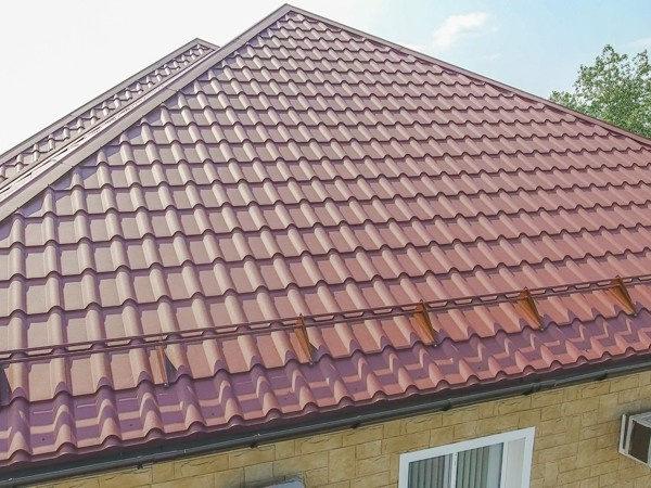 Металлочерепица Kamea для крыши дома