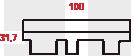 Форма нарезки Финская Аккорд