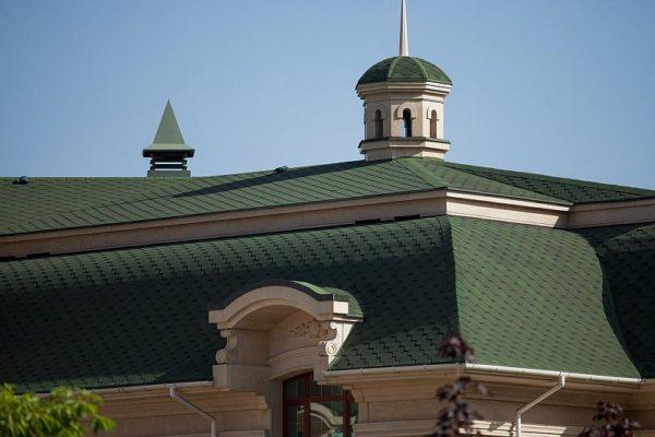 Гибкая черепица Ультра Самбо для сложной крыши дома