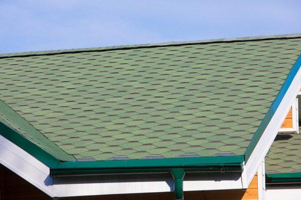 Гибкая черепица Ультра Самбо для крыши зеленая