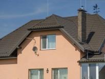 Металлочерепица Status для двухэтажного дома