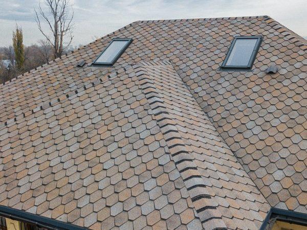 Гибкая черепица Вестерн для крыши мансарды