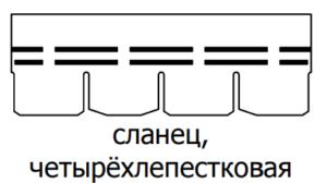форма крона