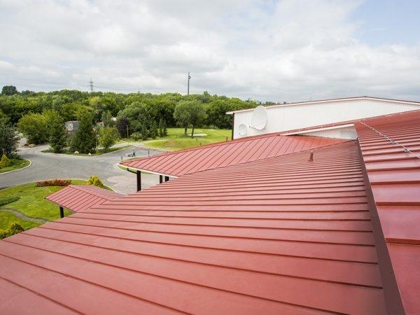 Кликфальц для большой крыши
