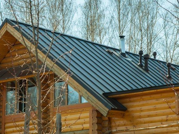Кликфальц для крыши дома