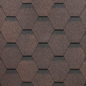 Вариант черепицы СОТА коричневого цвета