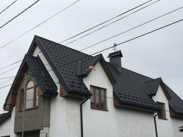 Металлочерепица Premium для сложной крыши