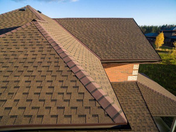 Гибкая черепица Ранчо для крыши дома