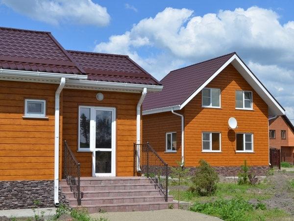 """Металлический сайдинг """"ЭкоБрус"""" (GL) отделка домов"""