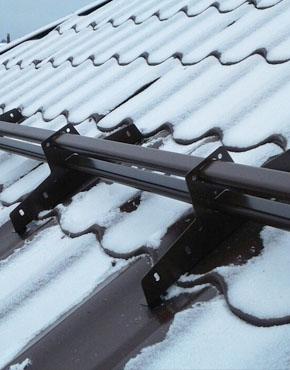 Снегозадержатели на крышу МеталлПрофиль