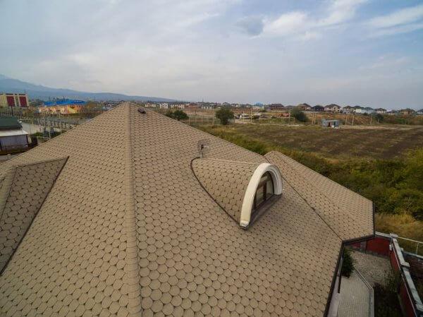 Гибкая черепица Классик Танго для комбинированных крыш