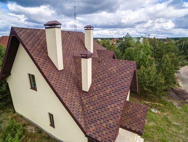 Гибкая черепица Классик Румба для крыши дома