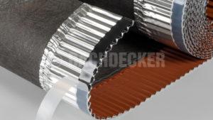 Лента DECKER-VentRoll 320 подконьковая для керамической черепицы
