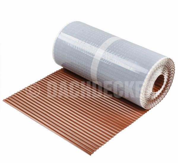 Лента для примыкания FlexxRoll ALU DECKER светло-коричневая
