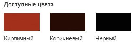 Гофрированная лента для примыканий (GL) доступные цвета