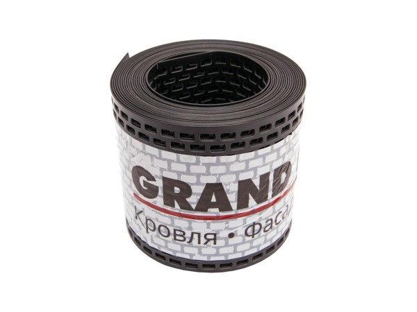Вентиляционная ПВХ-лента карниза (GL) черная