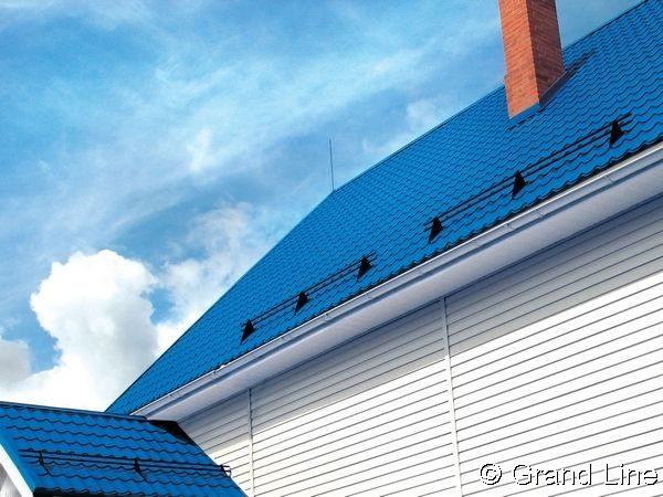 Снегозадержатель Optima на крыше