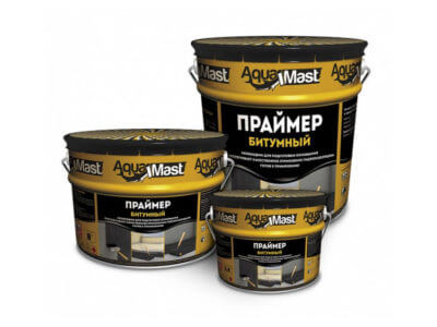 Праймер битумный Аквамаст 18кг